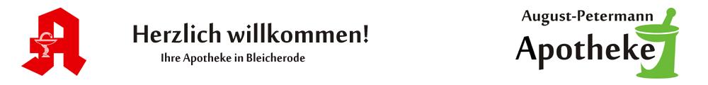 Ihre August Petermann Apotheke in Bleicherode